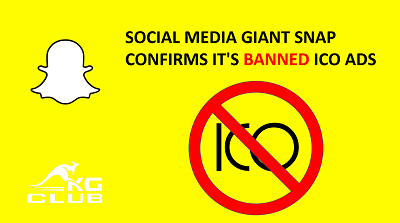 snapchat banned ico