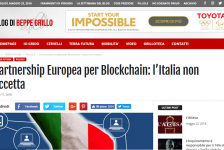 blog beppe grillo blockchain